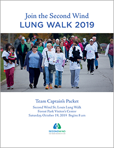Lung Walk captains and walkers packet